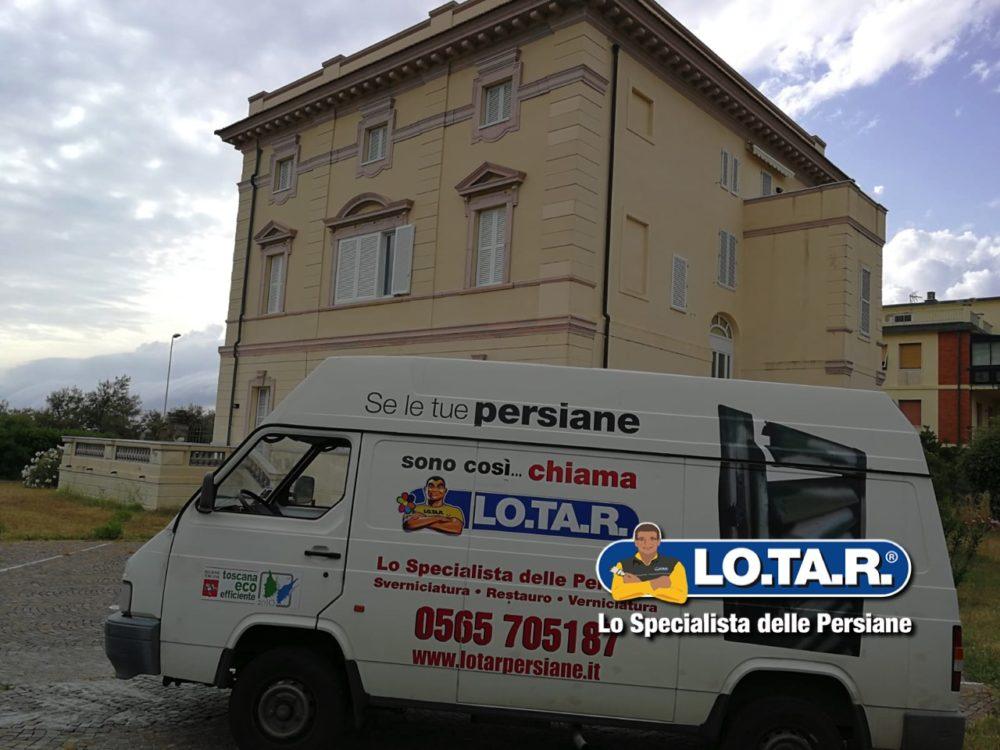 Villa Liberty Litorale Livornese Lotar Persiane 1