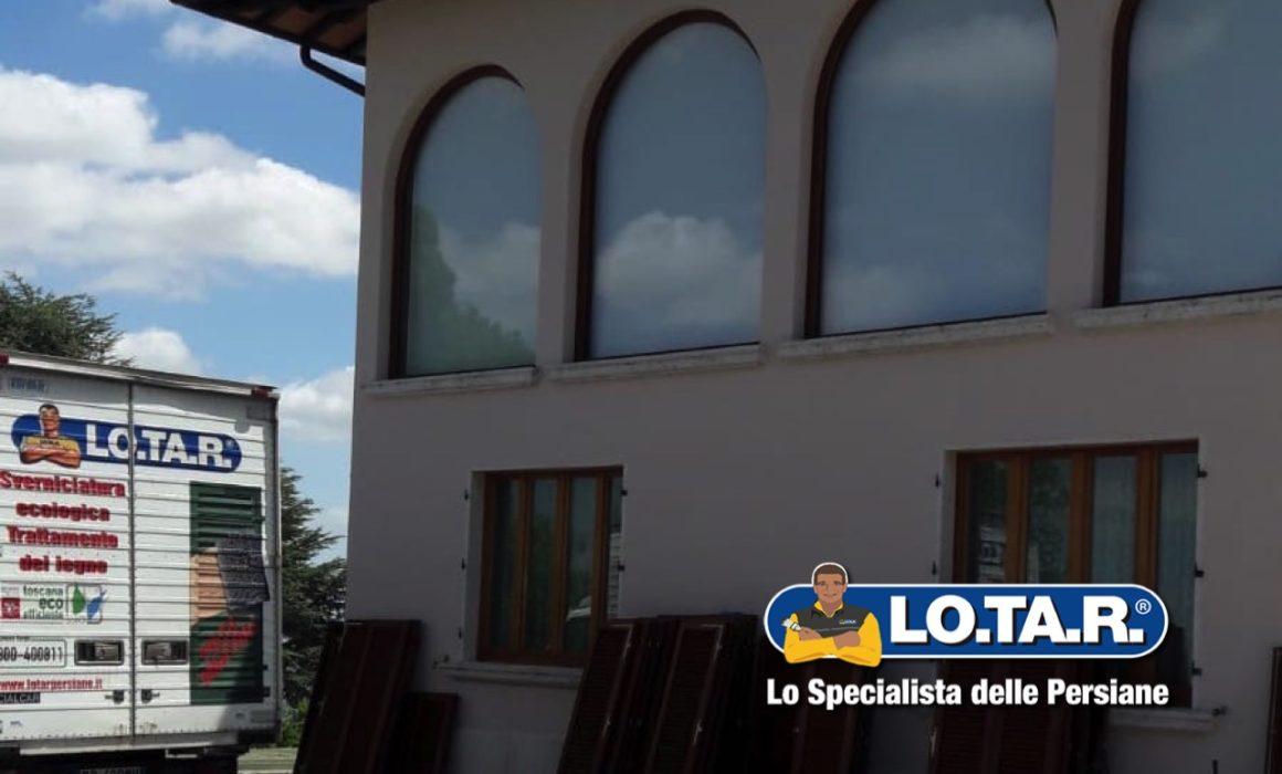 Villa Chianciano Terme Lotar Restauro Persiane