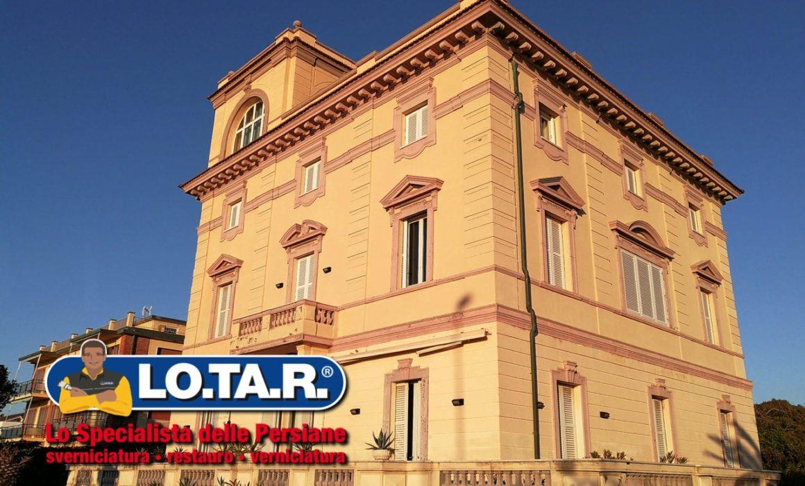 Villa Liberty Livorno Lotar Restauro Persiane In Legno