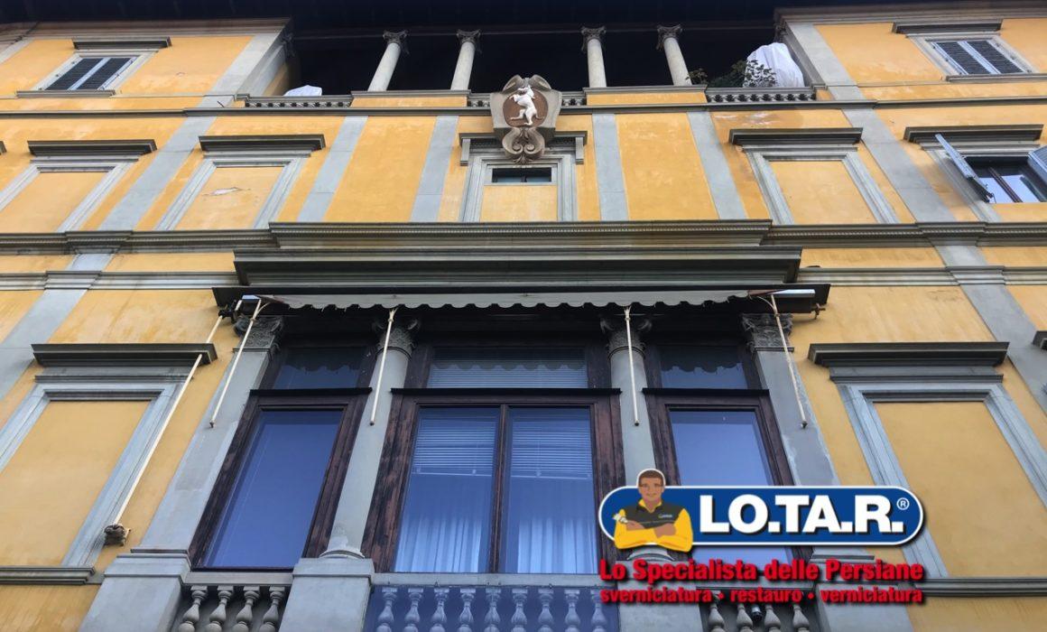 Palazzo Torrigiani Firenze Lotar Restauro Persiane In Legno 5