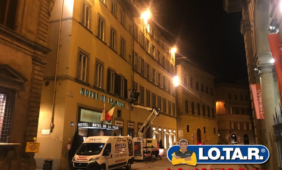 Hotel De La Ville Firenze Lotar Restauro Persiane In Legno
