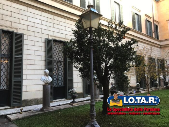 Roma Palazzo Madama Restauro Persiane Lotar 1