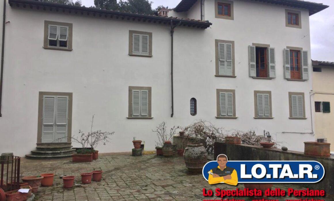 Villa Grassina Firenze Restauro Persiane Lotar 1